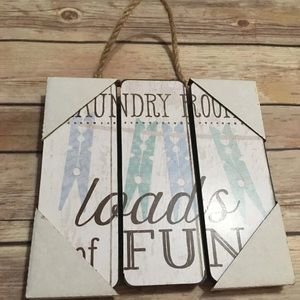 Other - Laundry Room Sign Home Decor